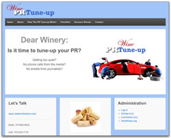 Screenshot of Wine PR Tuneup